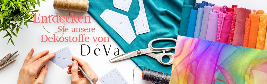 Dekostoffe der Marke DéVa